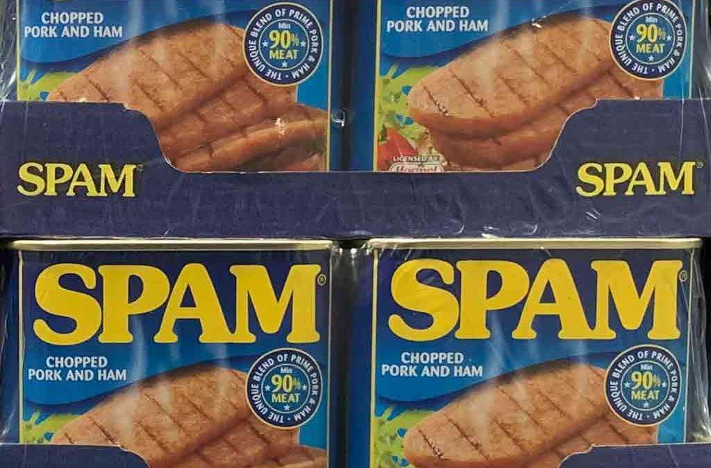 Spam: Significato Vero Di Una Parola Di Uso Ormai Comune