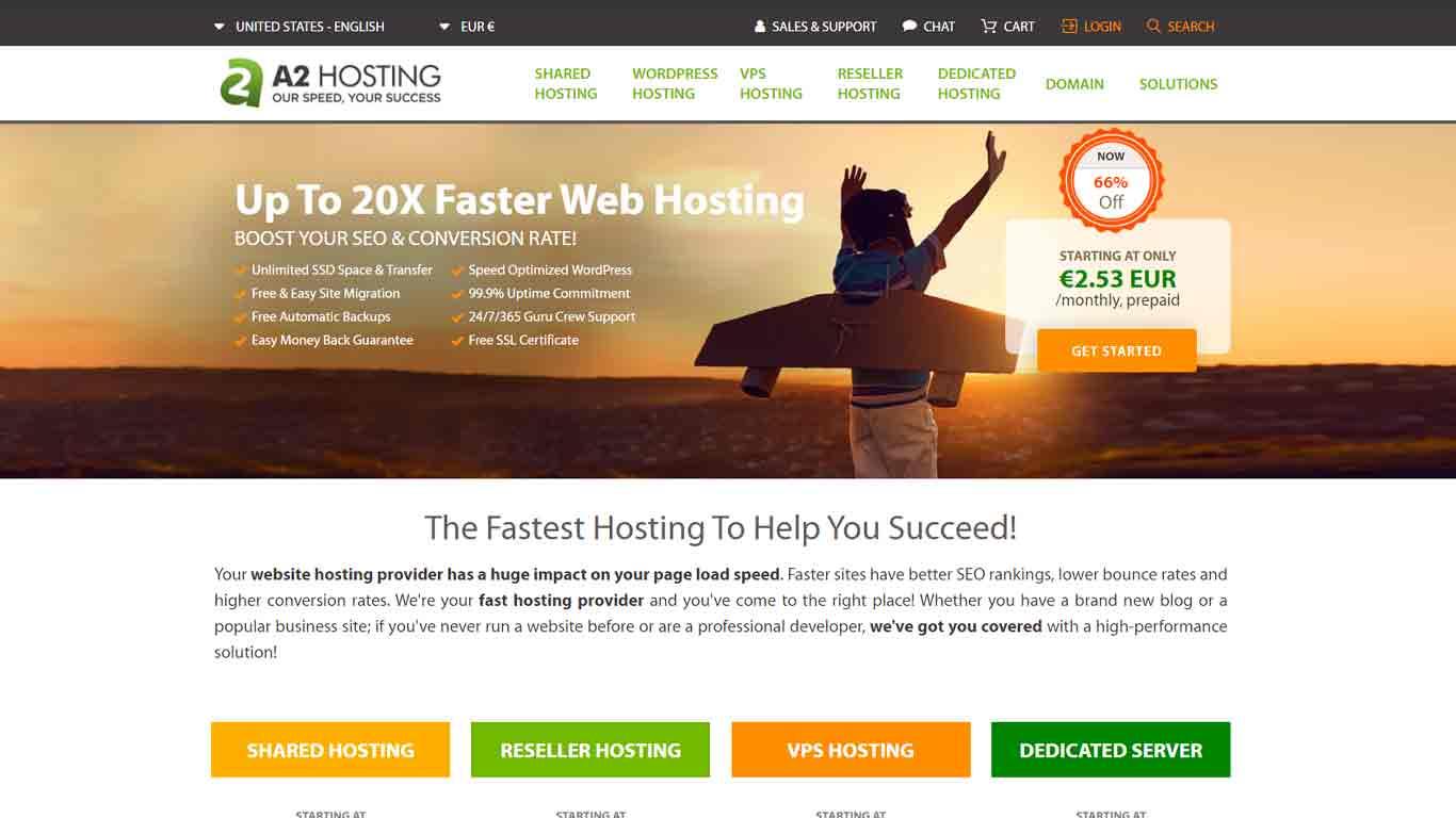 a2 hosting 2020