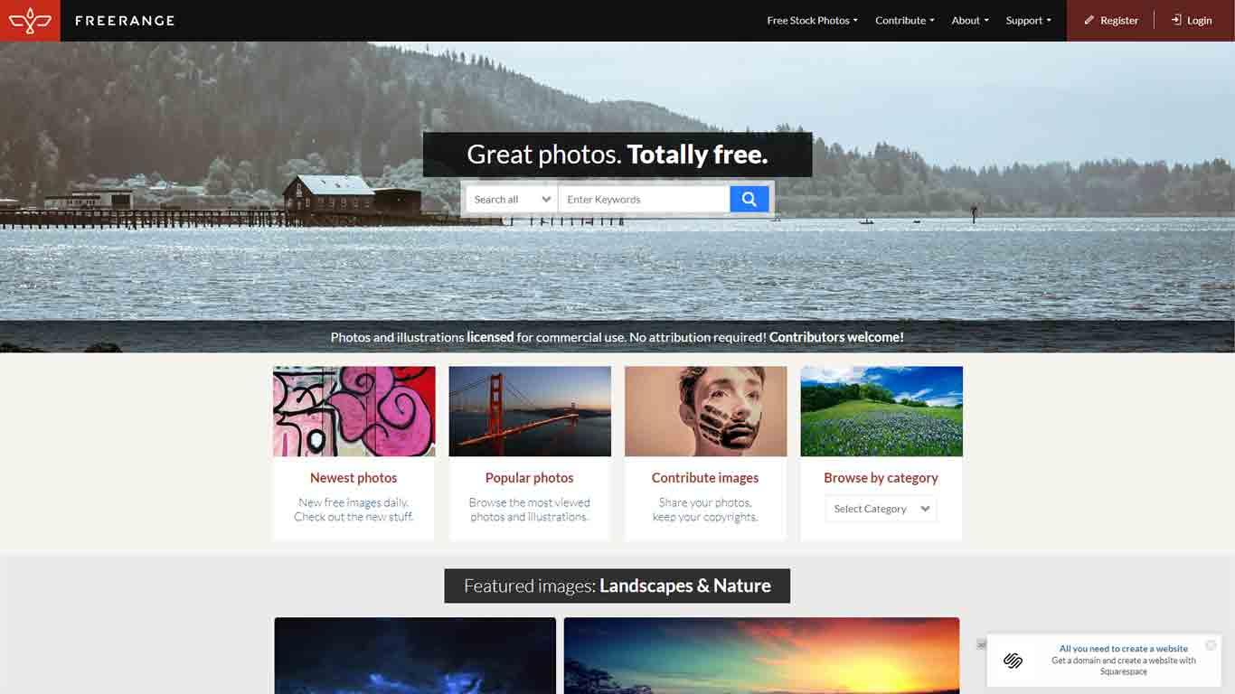 home page freerangestockphotos immagini senza copyright
