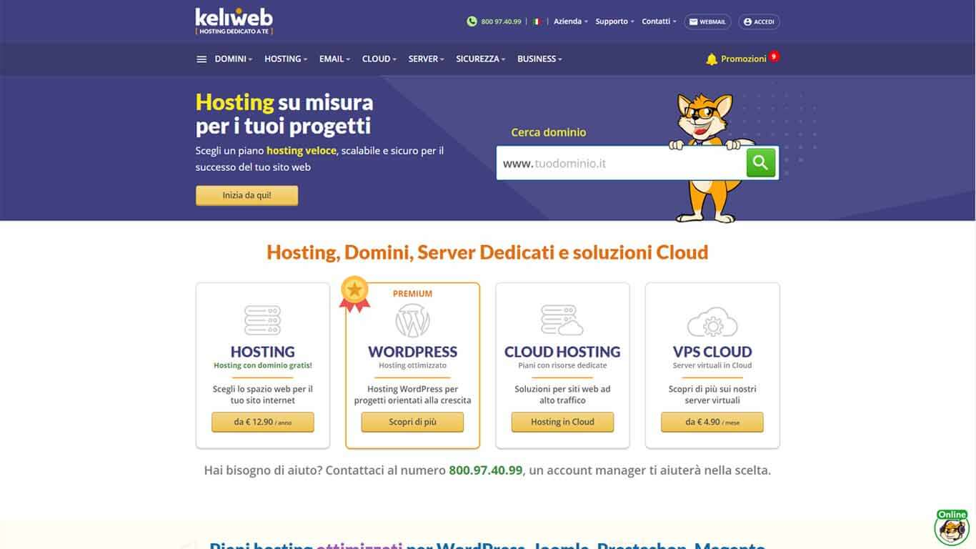 hosting 2020 keliweb