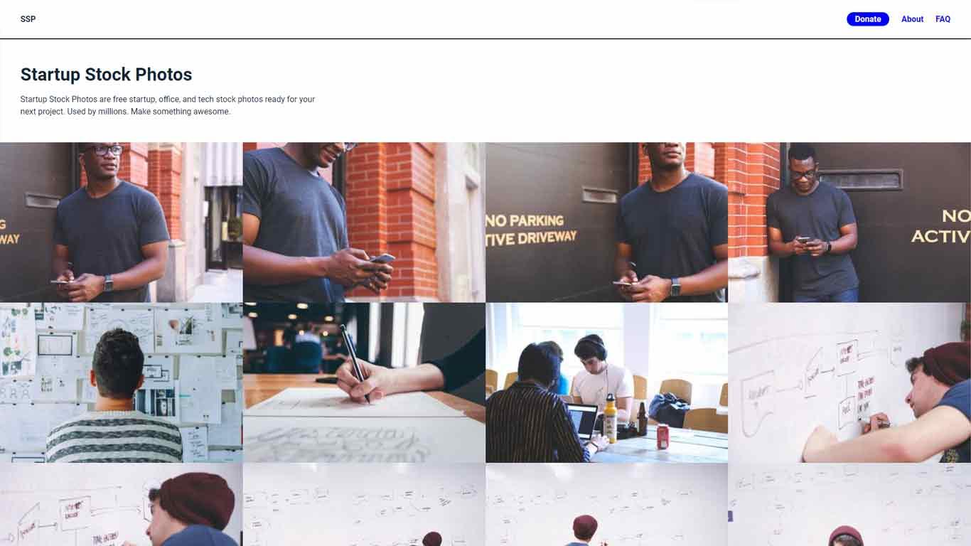 homepage di startupstockphotos