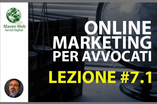Online Marketing Per Avvocati | Lezione #7.1 | Il nome dello studio