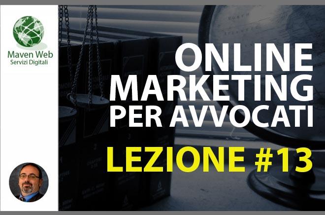 Online Marketing Per Avvocati | Lezione #13 | Il marketing e l'informatica parte 1